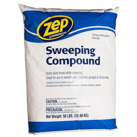 Zep Commercial HDSWEEP50 Sweeping Compound, 50 Lb