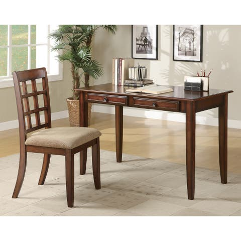 Alisha 2-piece Writing Desk Set with Chair
