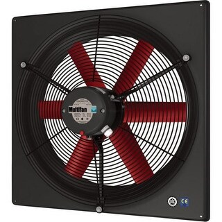 Multifan V2E30K1M71100 12 Inch Exhaust Fan Single Phase 240V High Performance - multi