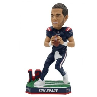 "New England Patriots Tom Brady Color Rush Jersey 8"" Bobblehead"