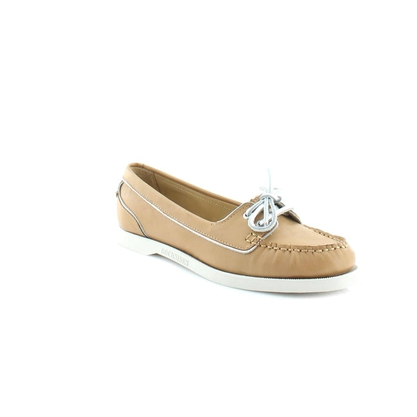 Sebago Docksides Women's Flats & Oxfords Tan