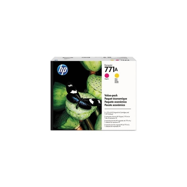 HP 771A Printhead Ink Cartridge Value Pack (Single Pack) Printhead and Ink Cartridge