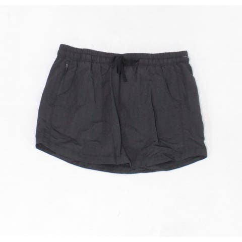 The North Face Women's Skorts Black Size Large L Comfort Waist Stretch