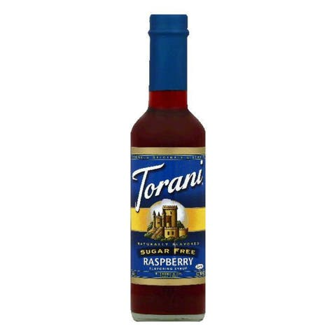 Torani Sugar Free Raspberry Flavoring Syrup, 12.7 OZ (Pack of 4)