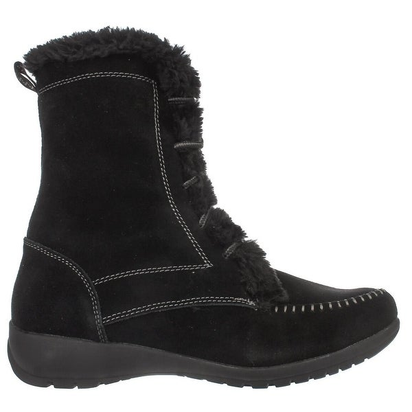 Sporto Womens Maggie Closed Toe Ankle Cold Weather Boots