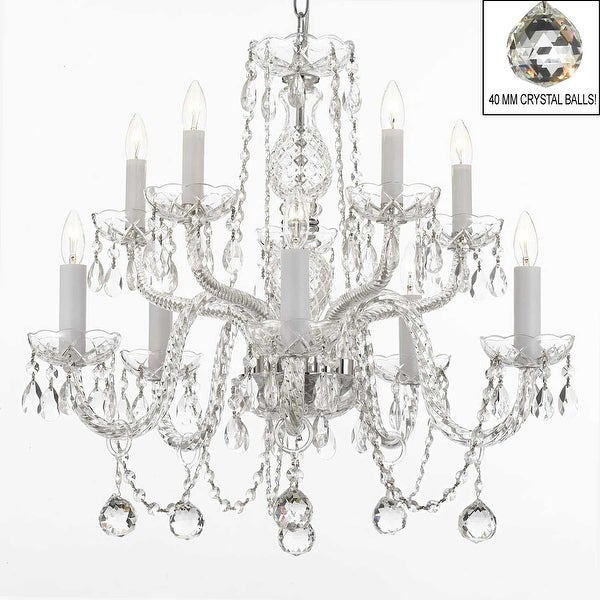 Swarovski Crystal Trimmed Chandelier Lighting All Crystal Chandelier Lighting
