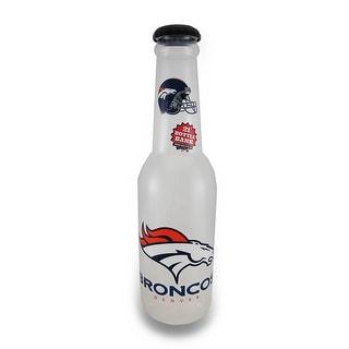 NFL Denver Broncos Jumbo Bottle Coin Bank 21 In. - Multicolored