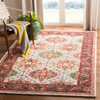 Link to Safavieh Handmade Trace Baukea Oriental Wool Rug Similar Items in Rugs