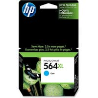 HP 564XL High Yield Cyan Original Ink Cartridge (CB323WN)(Single Pack)