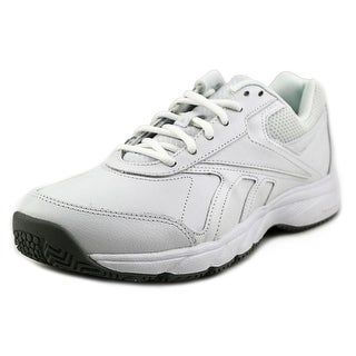 Reebok Work N Cushion 2.0 Women Round Toe Leather White Work Shoe