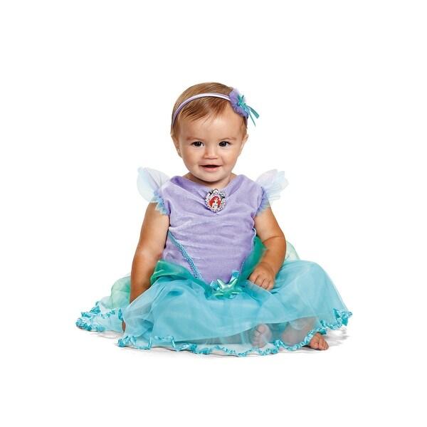 d5127a0cca02 Shop Disguise Ariel Deluxe Infant Costume - Purple Blue - Free ...