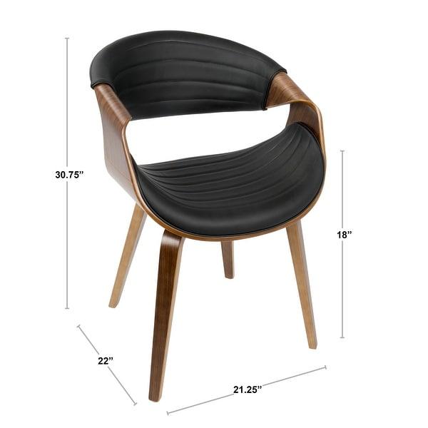 Carson Carrington Kanteborg Faux Leather/Wood Dining Chair