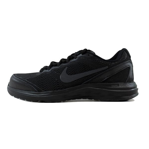 Nike Women's Dual Fusion Run 3 BlackBlack Anthracite 653594 020