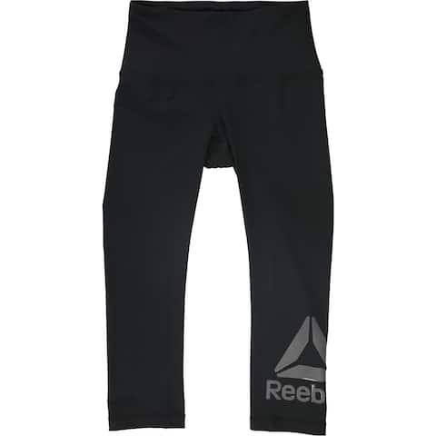 Reebok Womens Wanderlust Capri Compression Athletic Pants