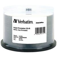 Verbatim 94755 700Mb 80-Minute 52X Datalifeplus(R) Cd-Rs, 50-Ct Spindle