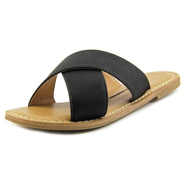 New Directions Trumpet Open Toe Synthetic Slides Sandal