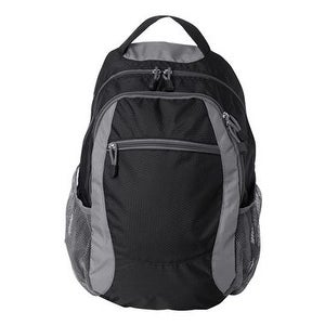 Campus Backpack - Black/ Grey - One Size
