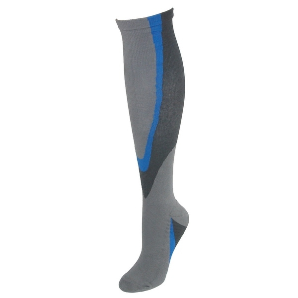 Fine Fit Extended Size Cushioned Compression Socks