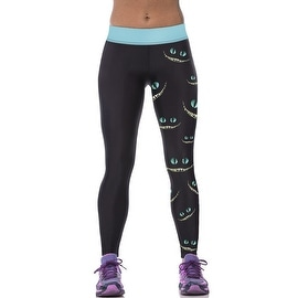 New Women's Alligator Eye Print Gym Running Yoga Pants High Rise Stretch Leggings Sweatpants Trousers