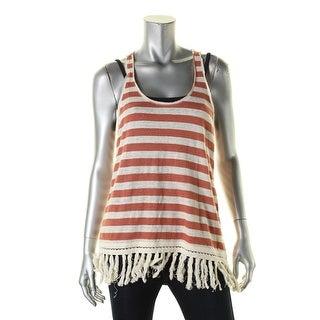 Scotch & Soda Womens Tank Top Sleeveless Striped
