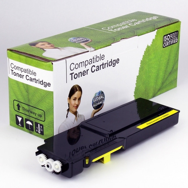 Value Brand replacement for Dell C2660DN Yellow Toner VL (4,000 Yield)
