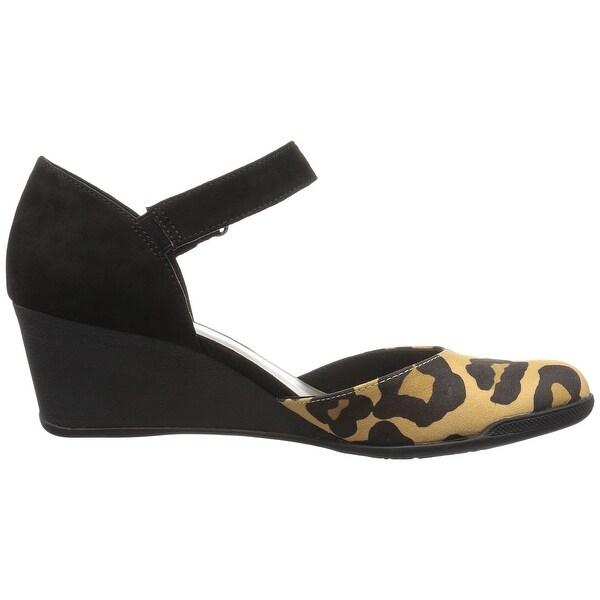 Anne Klein Womens Tasha Closed Toe Casual Ankle Strap Sandals - 7.5
