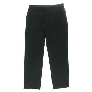 Calvin Klein Mens Flat Front Lightweight Dress Pants