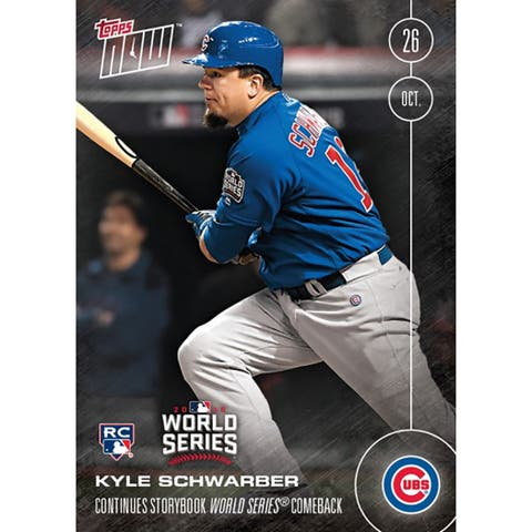 Chicago Cubs Kyle Schwarber (RC) #631-A Topps NOW Storybook Comeback Journey - multi
