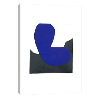 """PTM Images 9-105671  PTM Canvas Collection 10"""" x 8"""" - """"B and B 3"""" Giclee Abstract Art Print on Canvas"""
