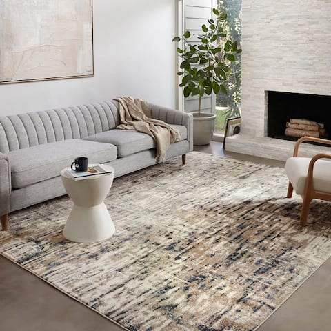 Alexander Home Bentley Abstract Modern Area Rug