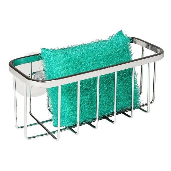 InterDesign 84702 Sinkworks Suction Sink Center, Stainless Steel