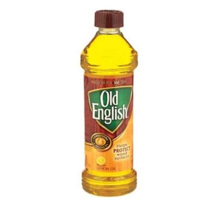 Old English 6233875143 Lemon Oil Furniture Polish, 16 Oz