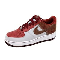 Nike Grade-School Air Force I 1 Premium NS White/Pinenut-Terra Cotta-Team Red 315517-122 Size 6Y