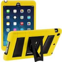 i-Blason Apple iPad Mini with Retina Display Armorbox 2 Case, Apple Mini Built-in Screen Protector-Yellow/Black
