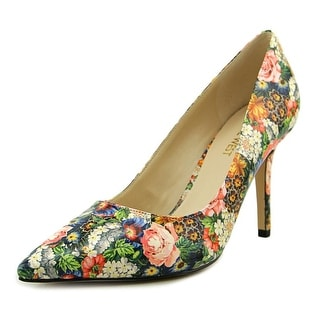 Nine West Jackpot Women Pointed Toe Synthetic Multi Color Heels