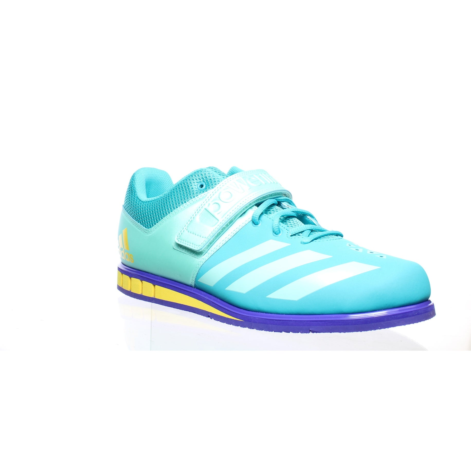Adidas Womens Powerlift 3.1 Blue Weightlifting Shoes Size 14.5