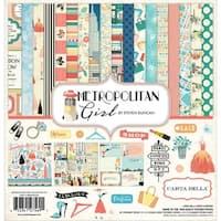 Carta Bella Paper Company CBMG60016 Metropolitan Girl Collection Kit
