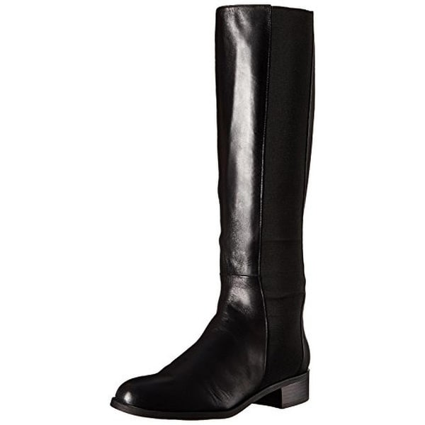 Calvin Klein Womens Gwenda Riding Boots Faux Leather Knee-High