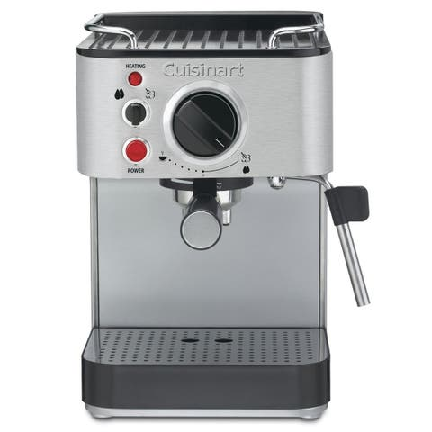 Conair Cuisinart EM-100 15-Bar Espresso Maker, Stainless Steel