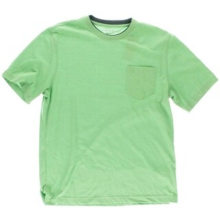 Izod Mens Front Pocket Short Sleeves T-Shirt