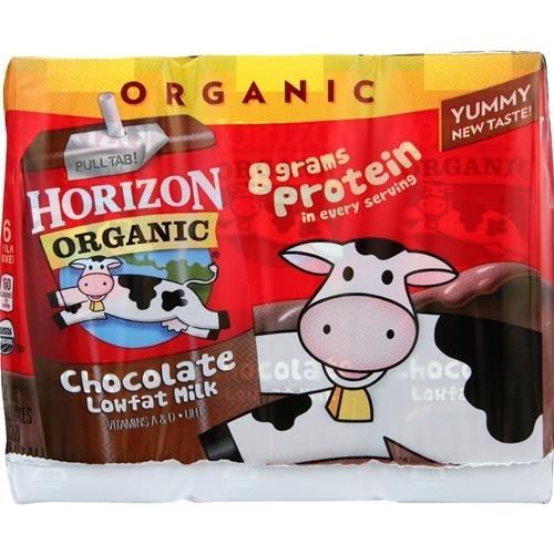 Horizon Organic Dairy - 1% Chocolate Milk ( 18 - 8 FZ)