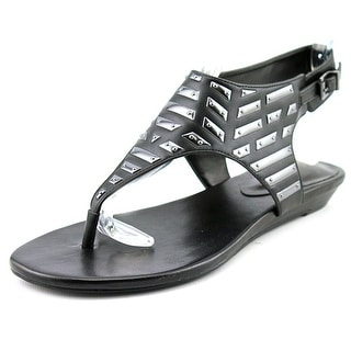 BCBGeneration Ari Open Toe Synthetic Sandals
