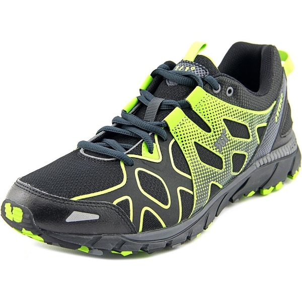 361 Ascent Men Night/Castlerock/Lime Green Running Shoes