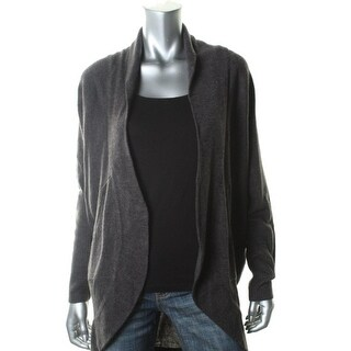 Sweet Romeo Womens Knit Dolman Sleeves Cardigan Sweater - S