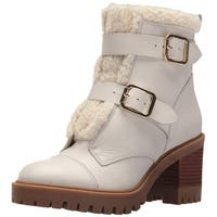 Nine West Women's Ingramm Leather Ankle Boot