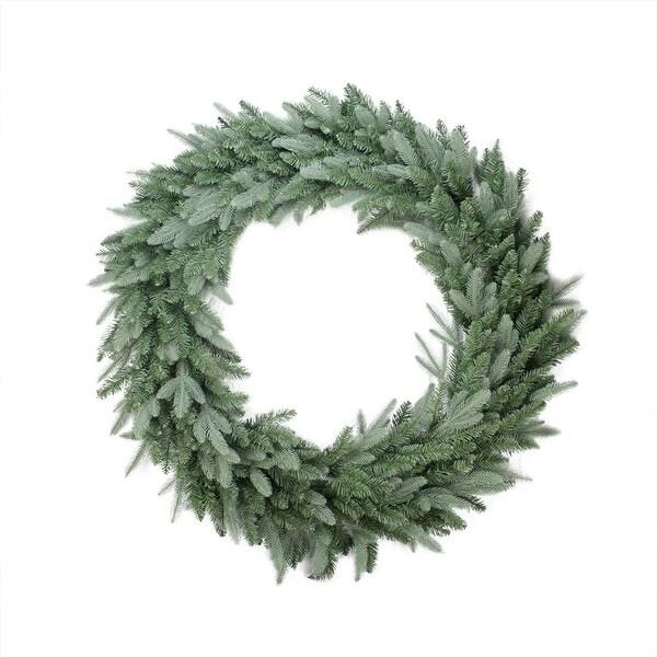 """48"""" Washington Frasier Fir Artificial Christmas Wreath - Unlit - green"""