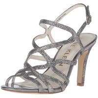 Anne Klein Womens Insists Open Toe Casual Ankle Strap Sandals