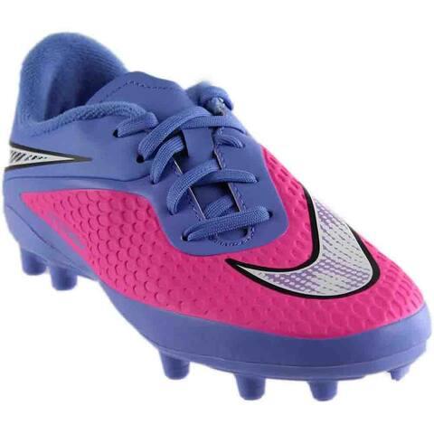 Nike Girls Jr Hypervenom Phelon Fg Gs Soccer Athletic Cleats