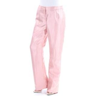 Womens Pink Wear To Work Straight leg Pants Size 8