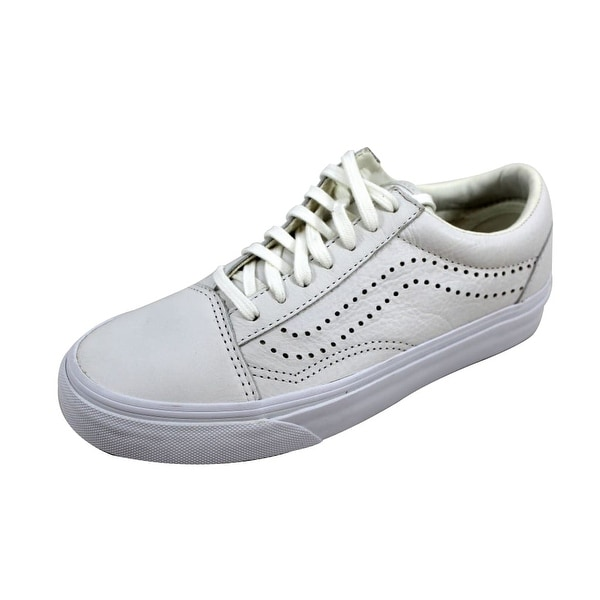 Vans Men's Old Skool Reissue White Leather VN0A2XS61EF